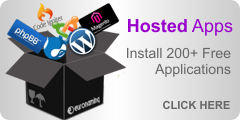 Hosted Apps: Install 200+ Free Applications